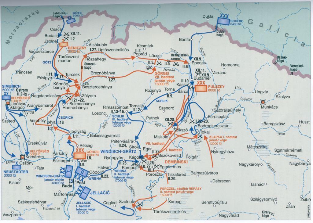 budapest térkép 1848 1848 1849 Jász Nagykun Szolnok megyében   Dokumentumok budapest térkép 1848